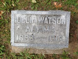 Delia <i>Watson</i> Adams