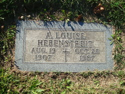 A Louise Hebenstreit