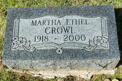 Martha Ethel <i>Scholer</i> Crowl