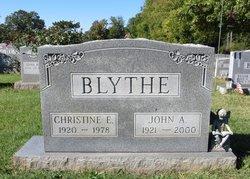 Christine E. <i>Revel</i> Blythe