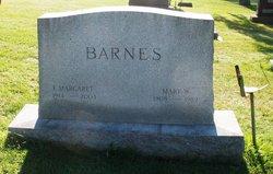 Frances Margaret Barnes