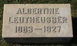 Albertine <i>Kemnitz</i> Leuthesser