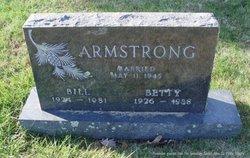 Betty Jean <i>Adams</i> Armstrong