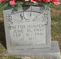 Nettie <i>Banks</i> Hunter