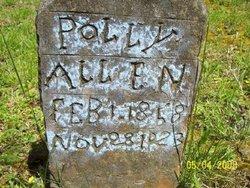 Mary Polly <i>Baker</i> Allen