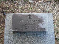 John D Cordell