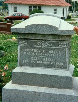 Kate M. <i>Goodrich</i> Abele