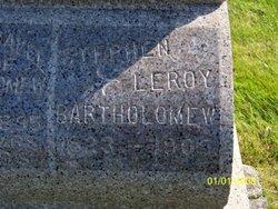 Stephen Leroy Bartholomew
