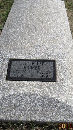 Jeff Allen Booker