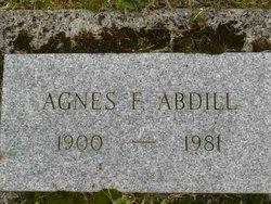 Agnes F <i>Smith</i> Abdill