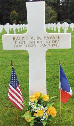 TSgt Ralph V M Favale