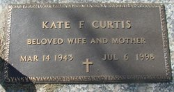 Kate F Curtis