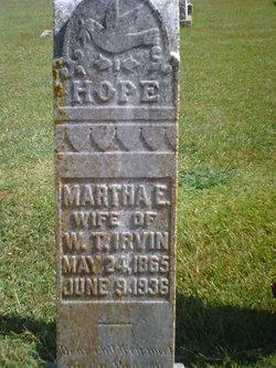 Martha Emma <i>Greer</i> Irvin