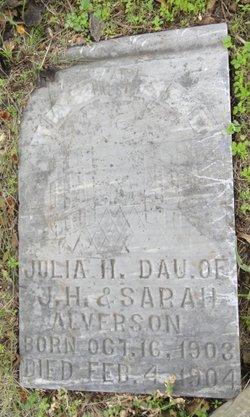 Julia H Alverson