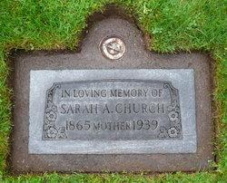 Sarah A. Church