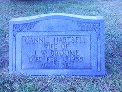 Cannie Bell <i>Hartsell</i> Broome