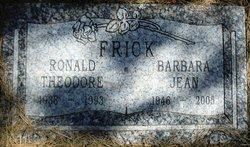 Ronald Theodore Ronnie Frick
