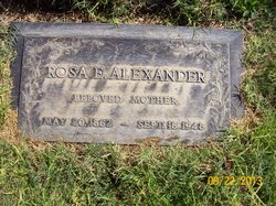 Rosa Emma <i>Staiger</i> Alexander