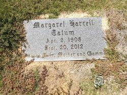 Margaret <i>Harrell</i> Tatum