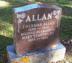 Mary <i>Stansbury</i> Allan