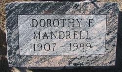 Dorothy Florence <i>Moulton</i> Mandrell
