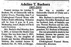 Adeline T. Bachorz