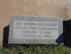 Amy Hanna Alexander