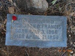 Drucilla Rosamond Rose <i>Adams</i> Francis
