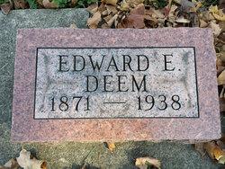 Edward E Deem
