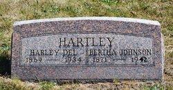 Bertha E. <i>Johnson</i> Hartley