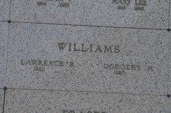 Dorothy M Williams