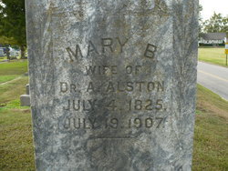 Mary B <i>Hay</i> Alston