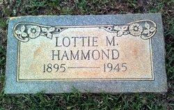 Lottie M <i>Waller</i> Hammond