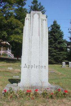 Rachel E. <i>Foster</i> Appleton
