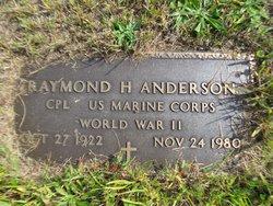 Raymond H Anderson