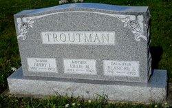Blanche E Troutman