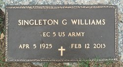 Singleton G. Sing Williams
