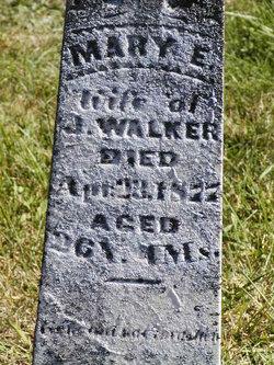 Mary E <i>McCollum</i> Walker