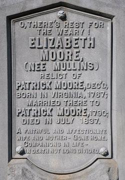 Elizabeth <i>Mullins</i> Moore