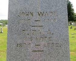 Eliza A. Wade