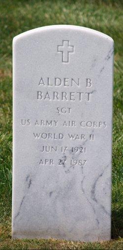 Alden B Barrett