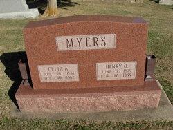 Celia Adeline <i>Hanks</i> Myers