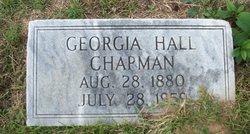 Georgia <i>Hall</i> Chapman