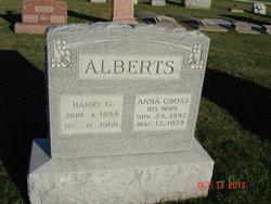 Anna Margeretha Emma <i>Cross</i> Alberts