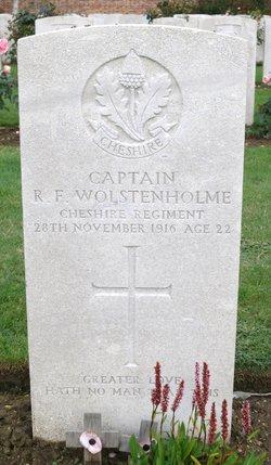 Richard Francis Wolstenholme
