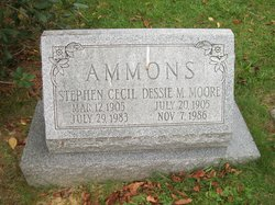 Dessie May <i>Moore</i> Ammons