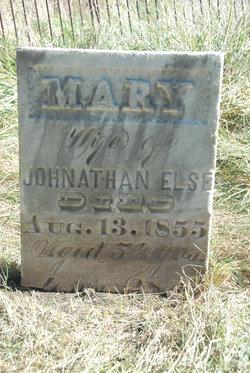 Mary <i>Neeves</i> Else
