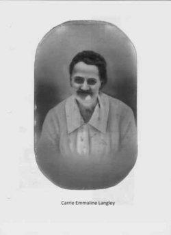 Carrie Emmaline <i>Langley</i> Thomas