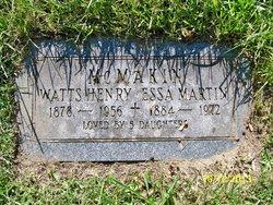 Watts H McMakin