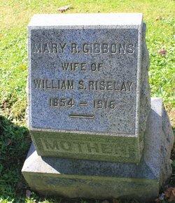 Mary Rebecca Minnie <i>Gibbons</i> Riseley